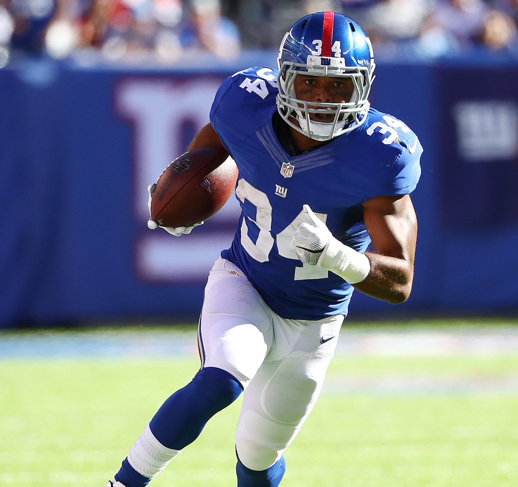 If healthy, Giants' RB depth looks to be improved from last season