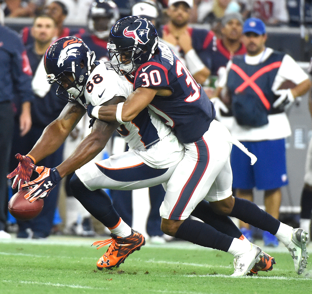 Kevin Johnson Houston Texans RCB NFL and PFF stats
