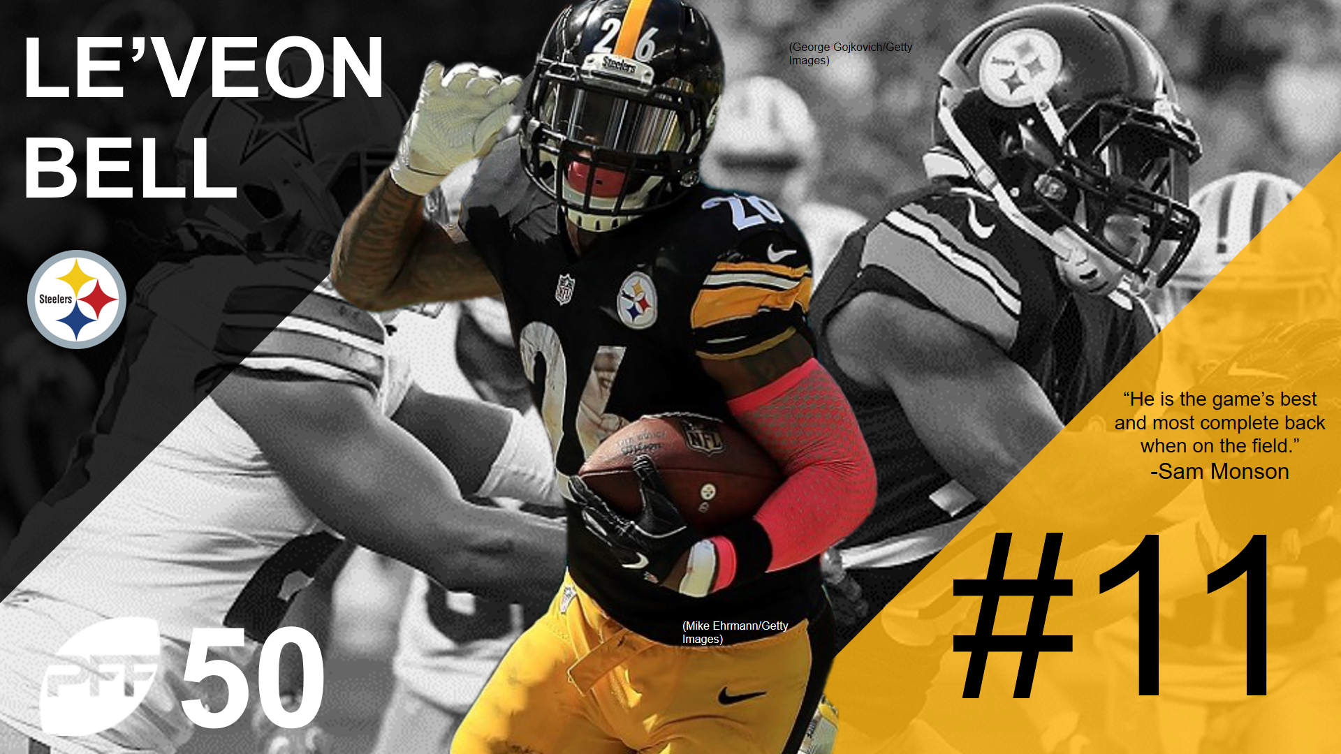 11 LeVeon Bell