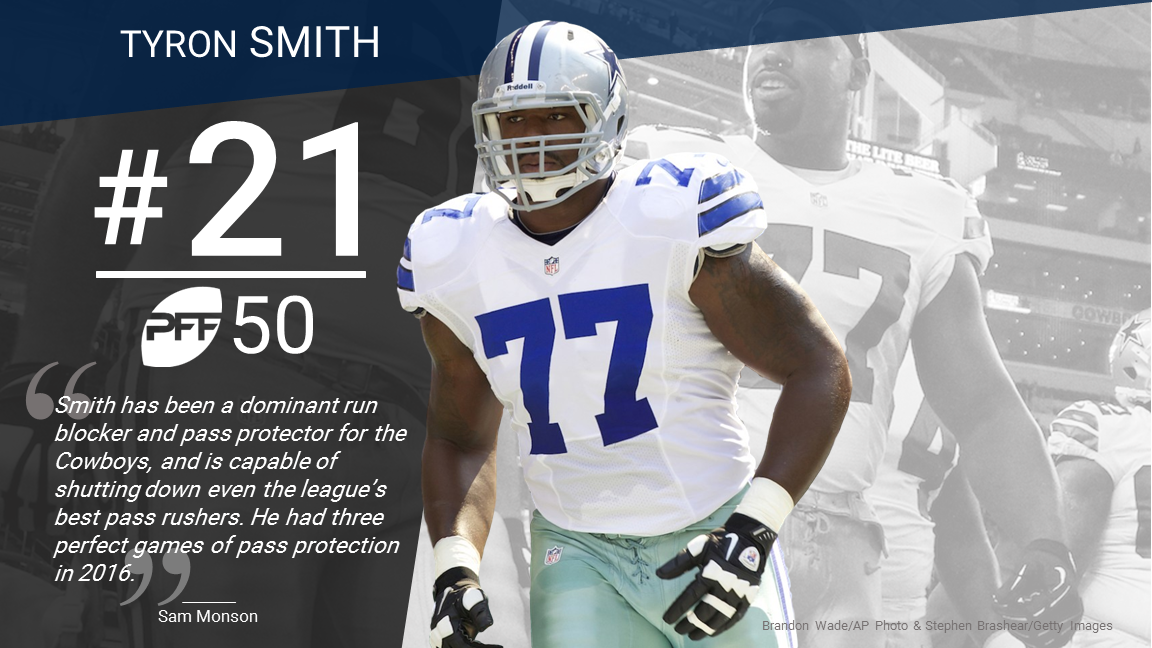 21 Tyron Smith