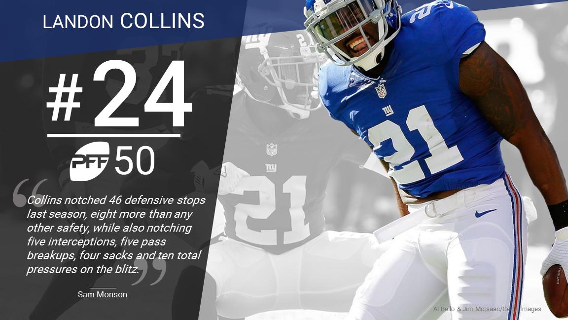 24 Landon Collins