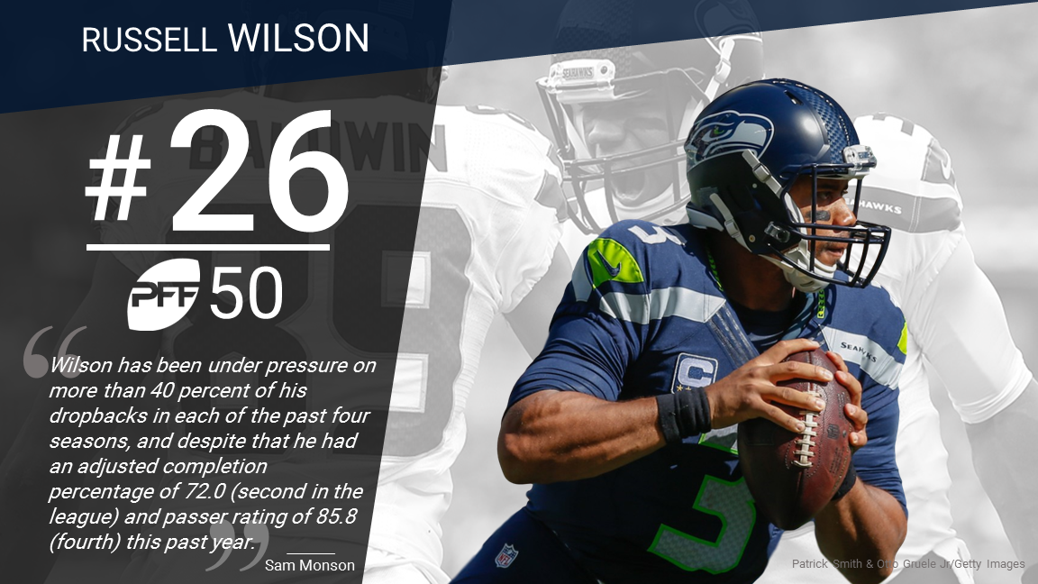26 Russell Wilson