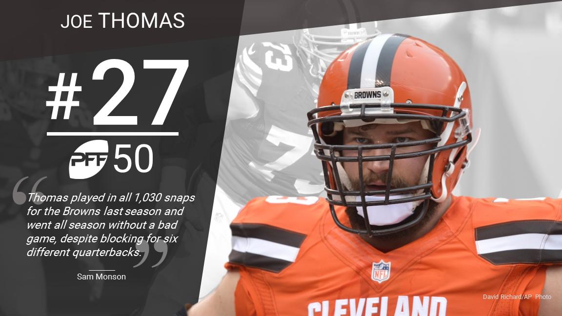 27 Joe Thomas