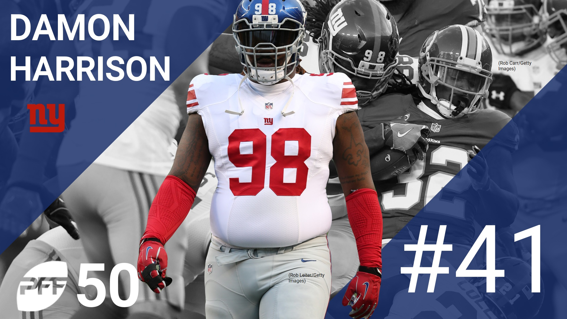 41 Damon Harrison