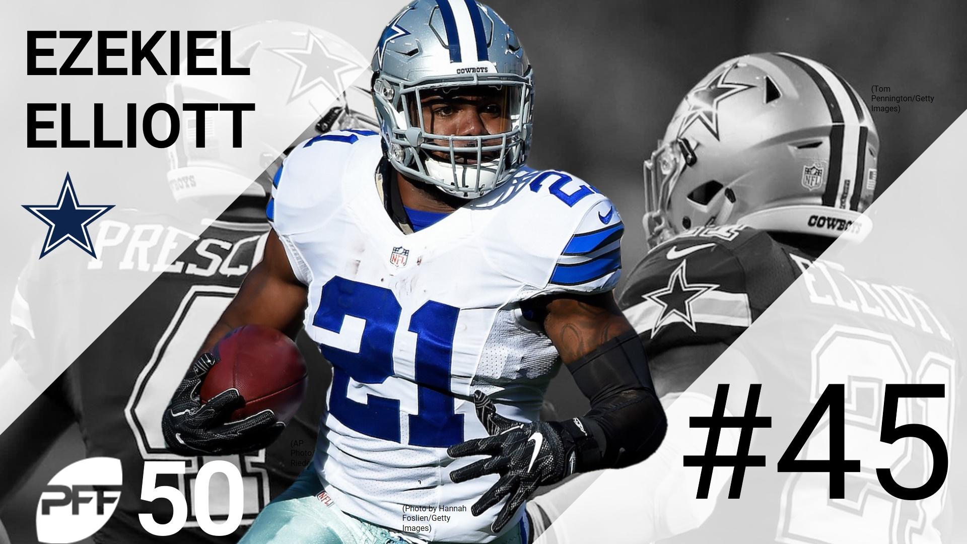 45 Ezekiel Elliott