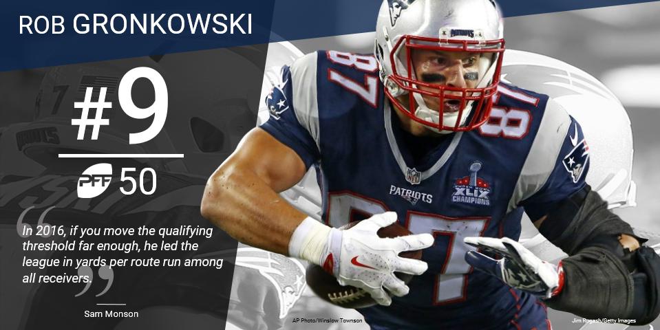 9 Rob Gronkowski