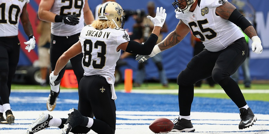 New Orleans Saints WR Willie Snead