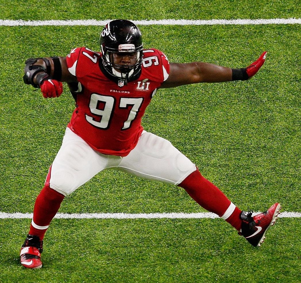 Grady Jarrett Atlanta Falcons DLT NFL and PFF stats
