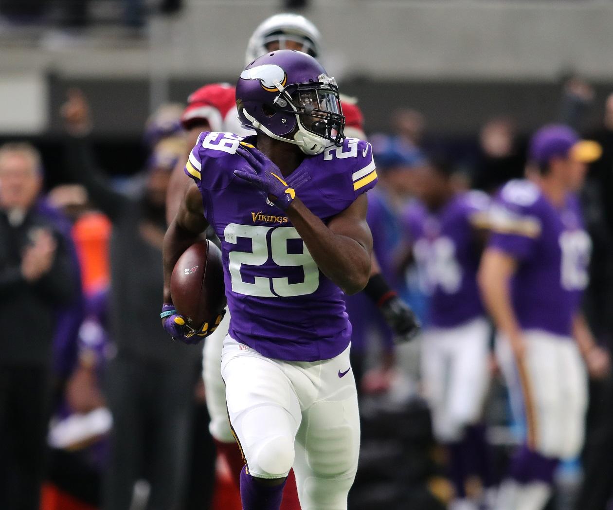 Xavier Rhodes Minnesota Vikings RCB NFL and PFF stats