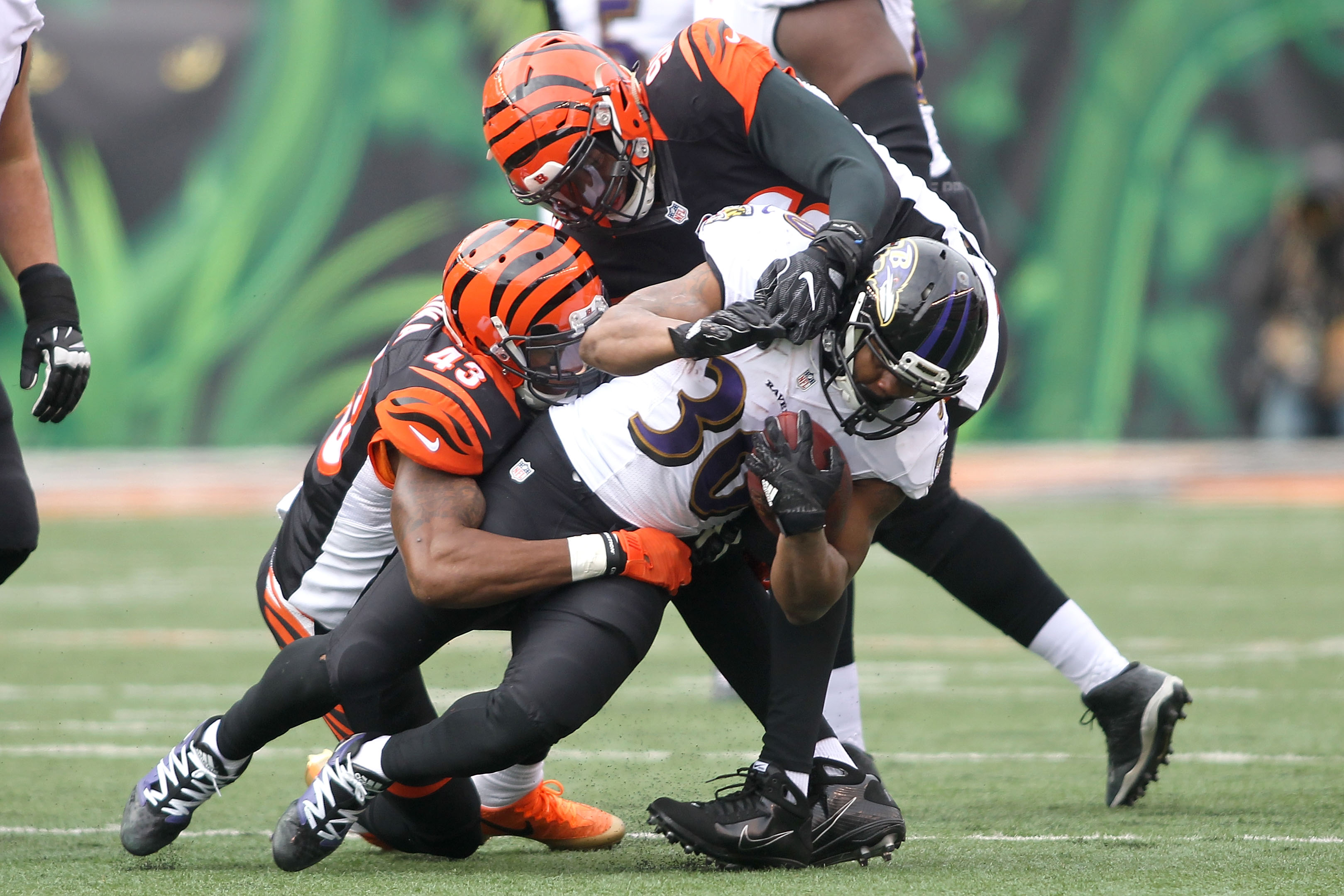 Baltimore Ravens RB Kenneth Dixon to miss season with meniscus injury