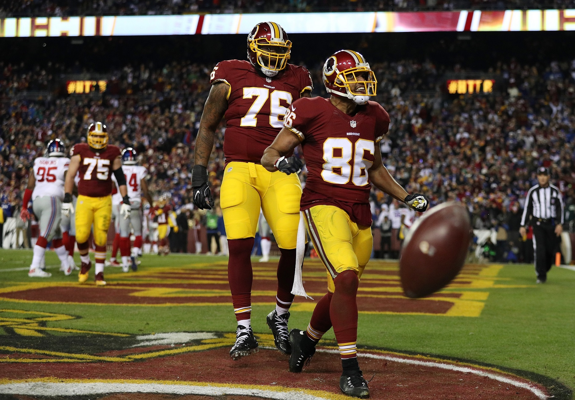 Camp begins with Jordan Reed unexpectedly on PUP list