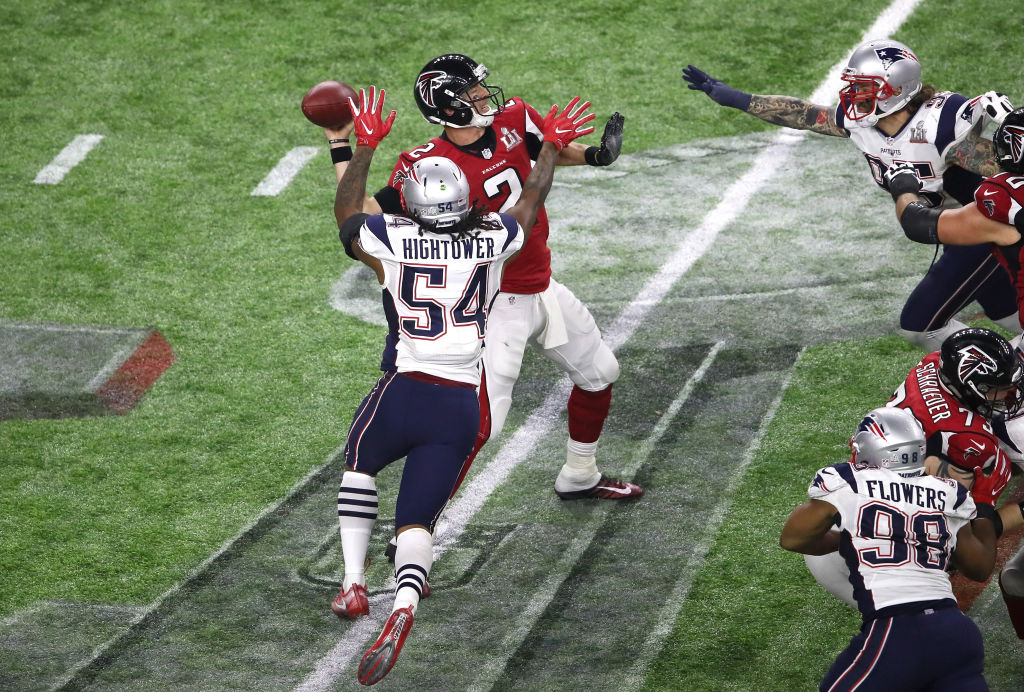 Dont a Hightower New England Patriots ROLB