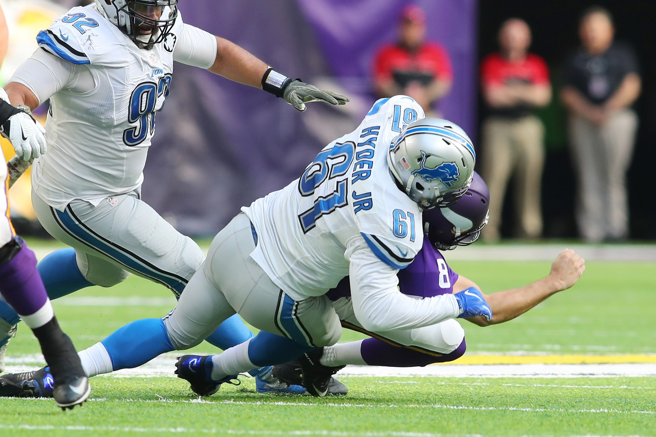 Lions' Kerry Hyder, Brandon Copeland Suffer Season-Ending Injuries