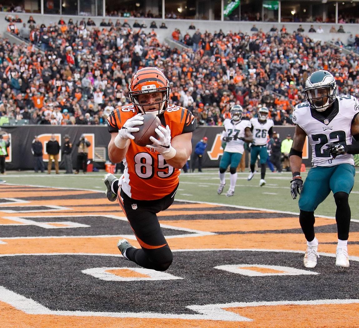 Tyler Eifert Cincinnati Bengals TE R NFL and PFF stats