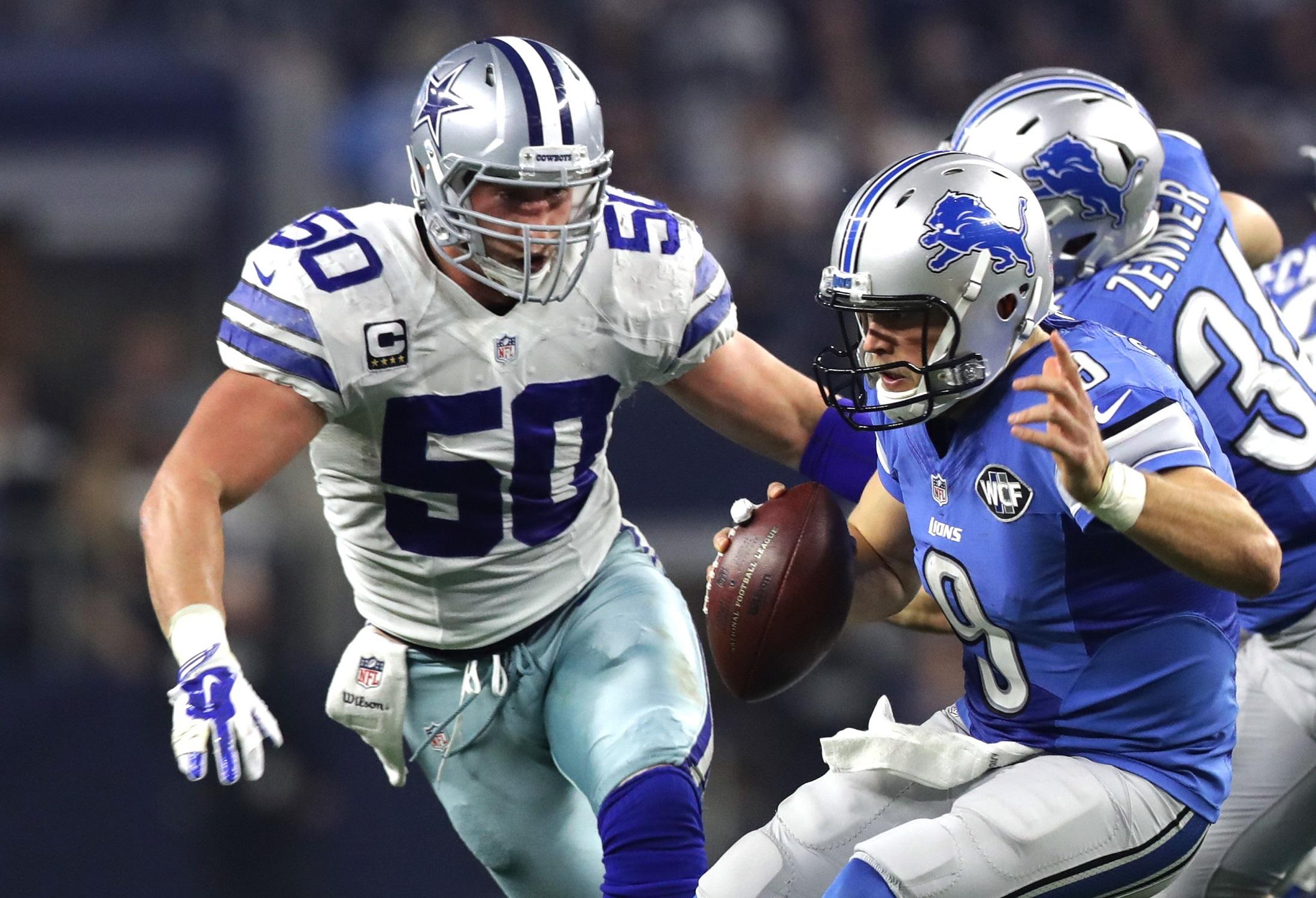 Sean Lee Dallas Cowboys WLB NFL and PFF stats