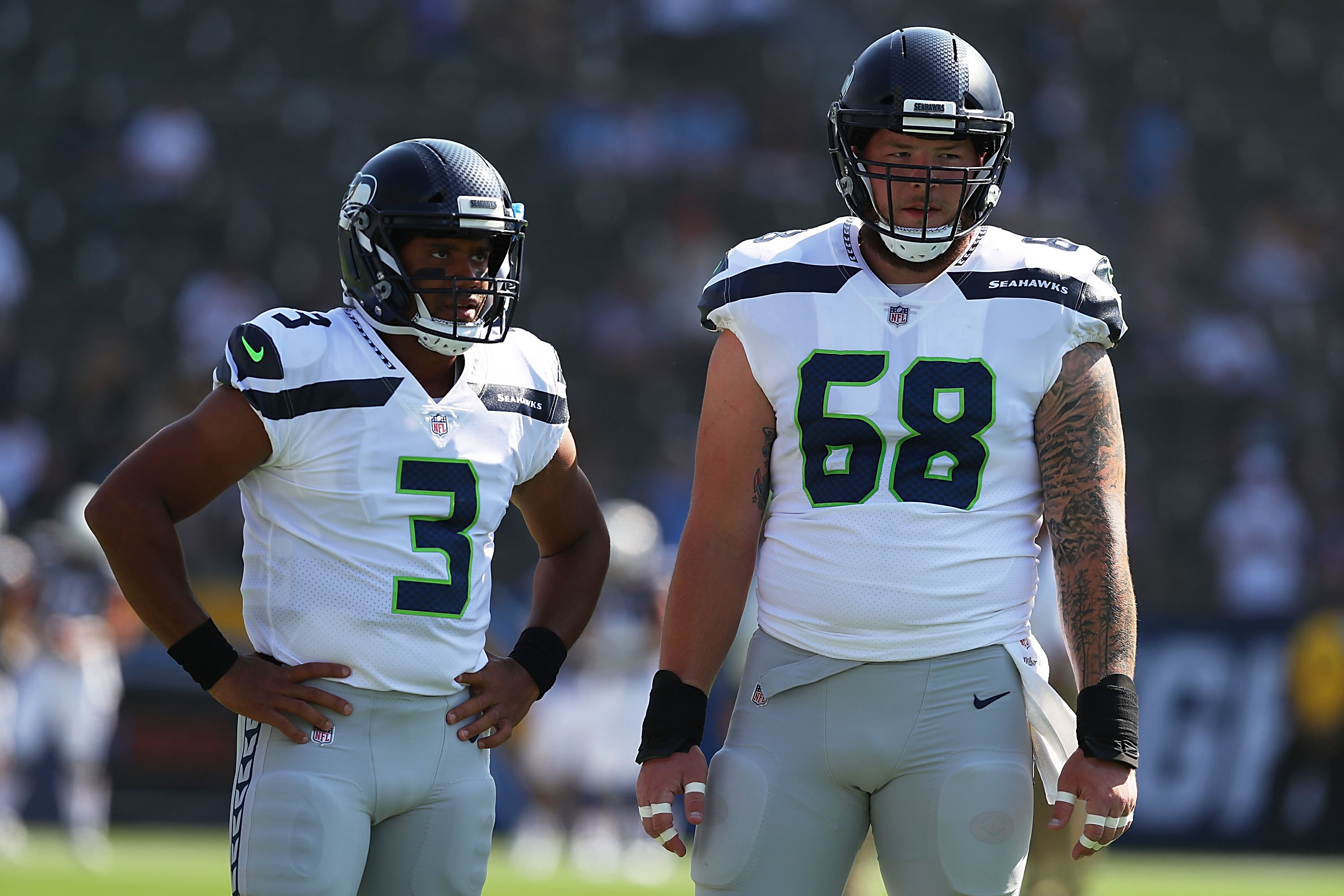 Justin Britt agrees to three-year extension with Seahawks