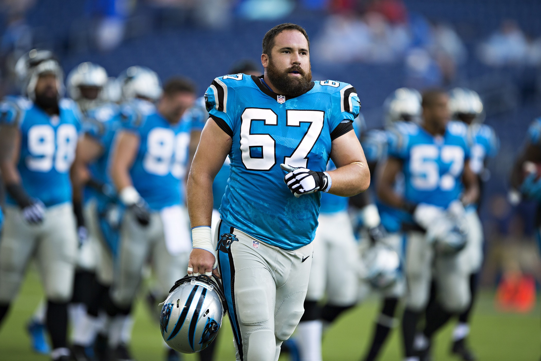 Ryan Kalil Carolina Panthers C NFL and PFF stats