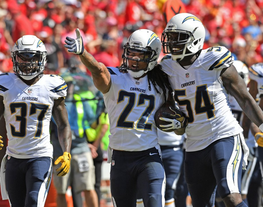 ebdaf38a570 Chargers CB Jason Verrett out for the season