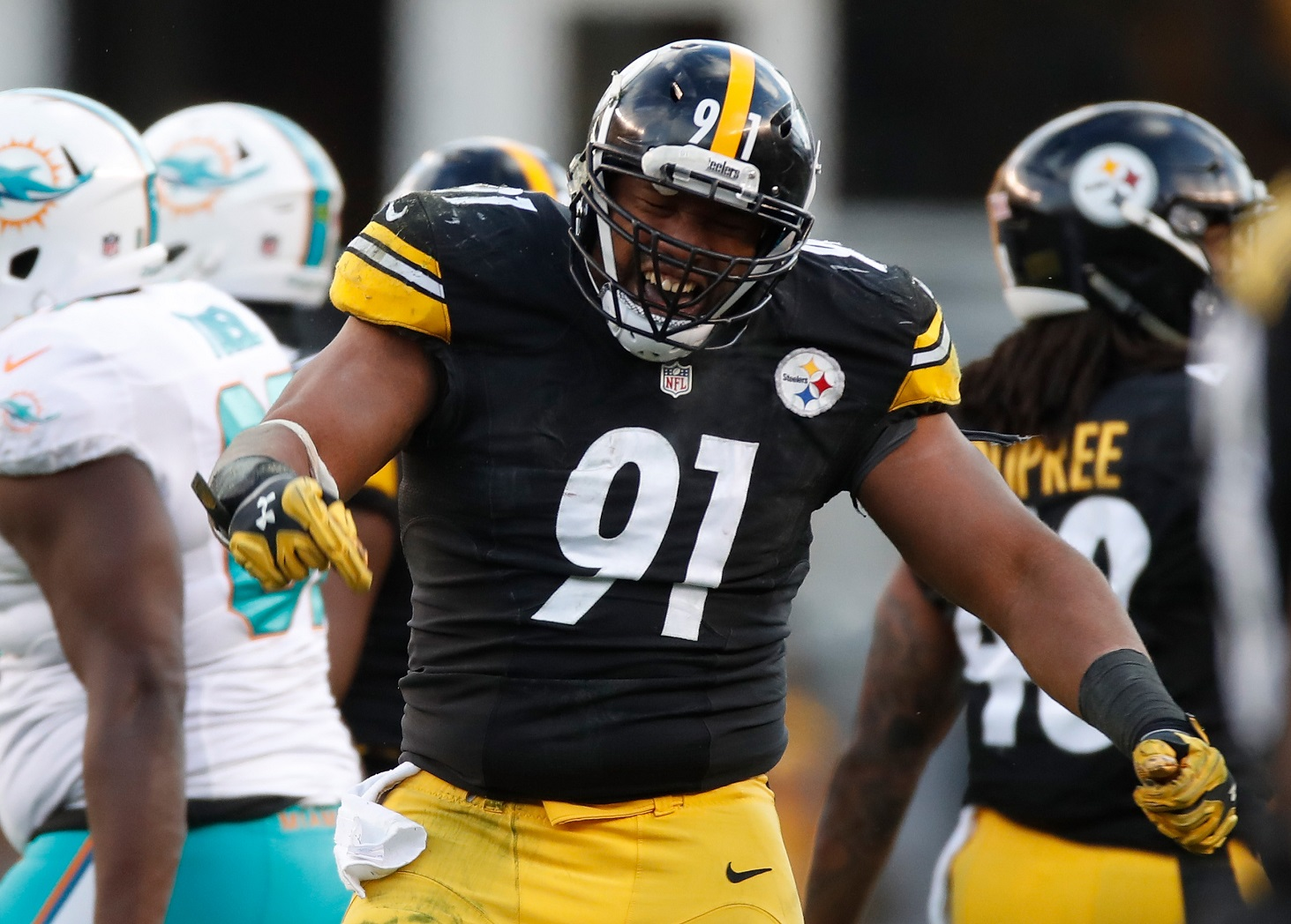Stephon Tuitt Pittsburgh Steelers LE NFL and PFF stats