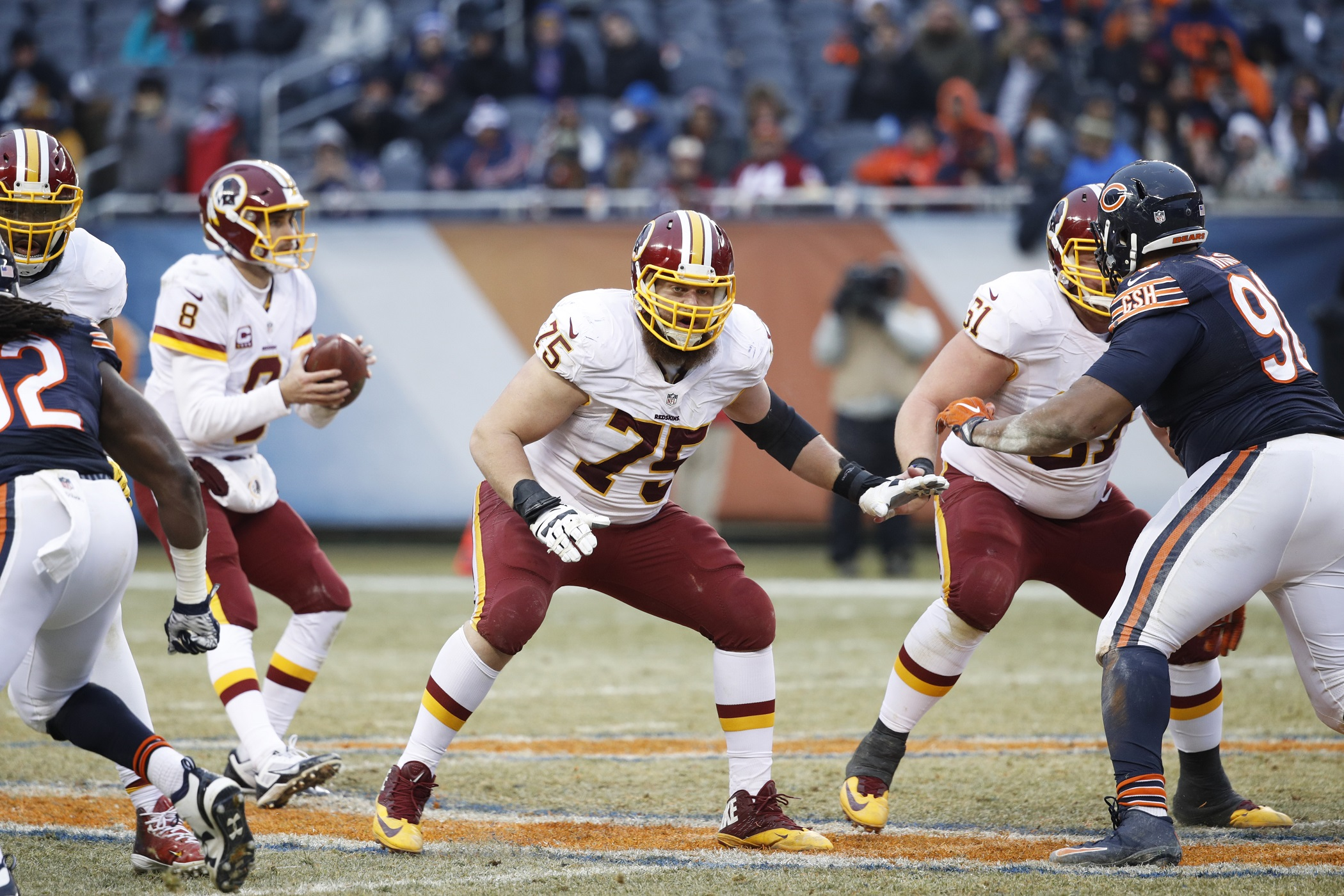 Brandon Scherff Washington Redskins RG NFL and PFF stats