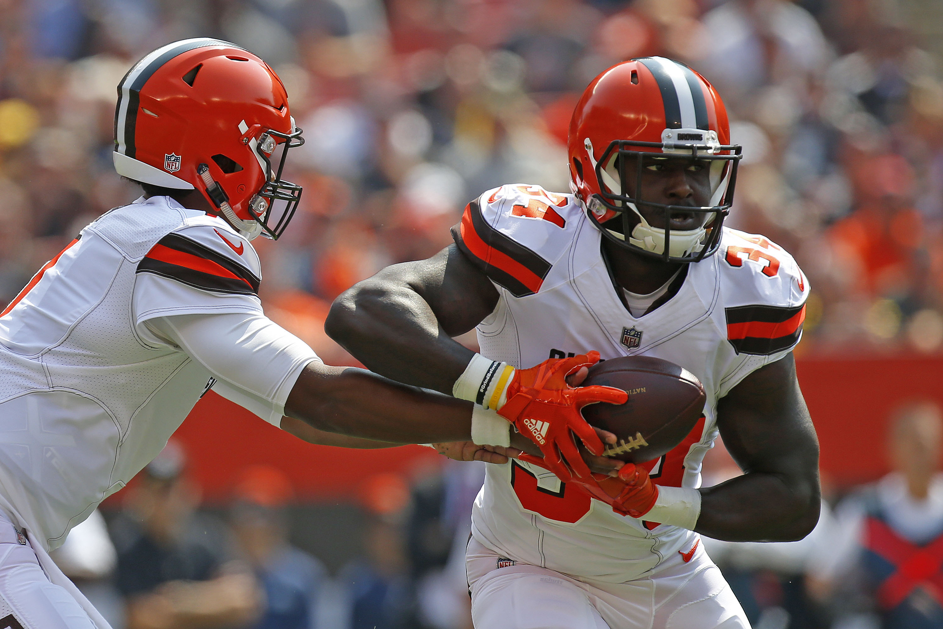 As the running game sputters, frustration grows inside RB Isaiah Crowell