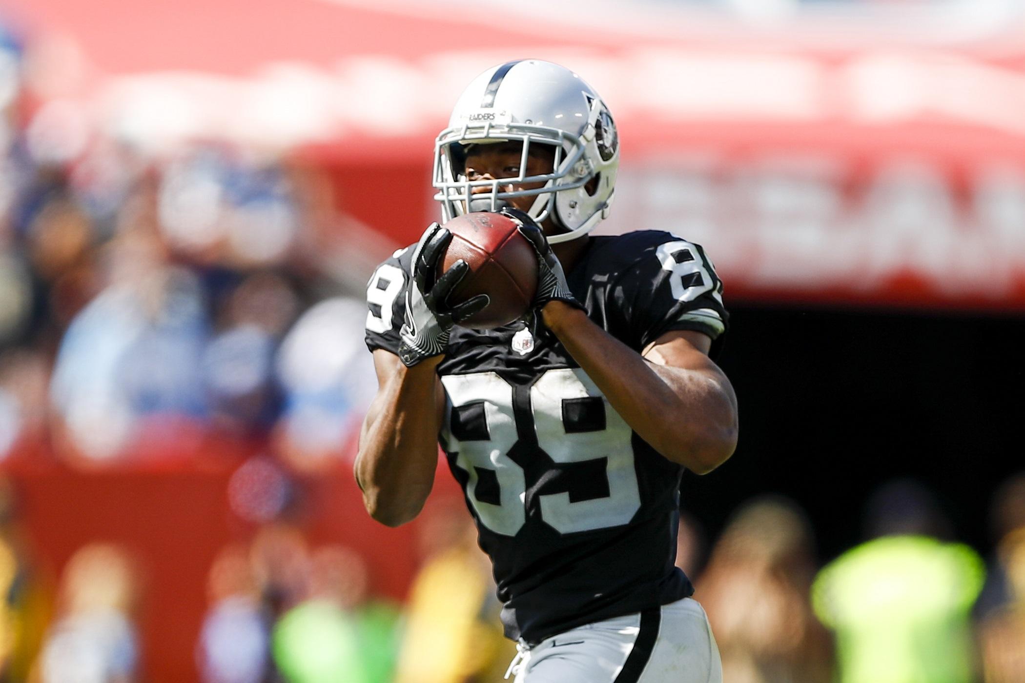 Amari Cooper Oakland Raiders RWR NFL and PFF stats