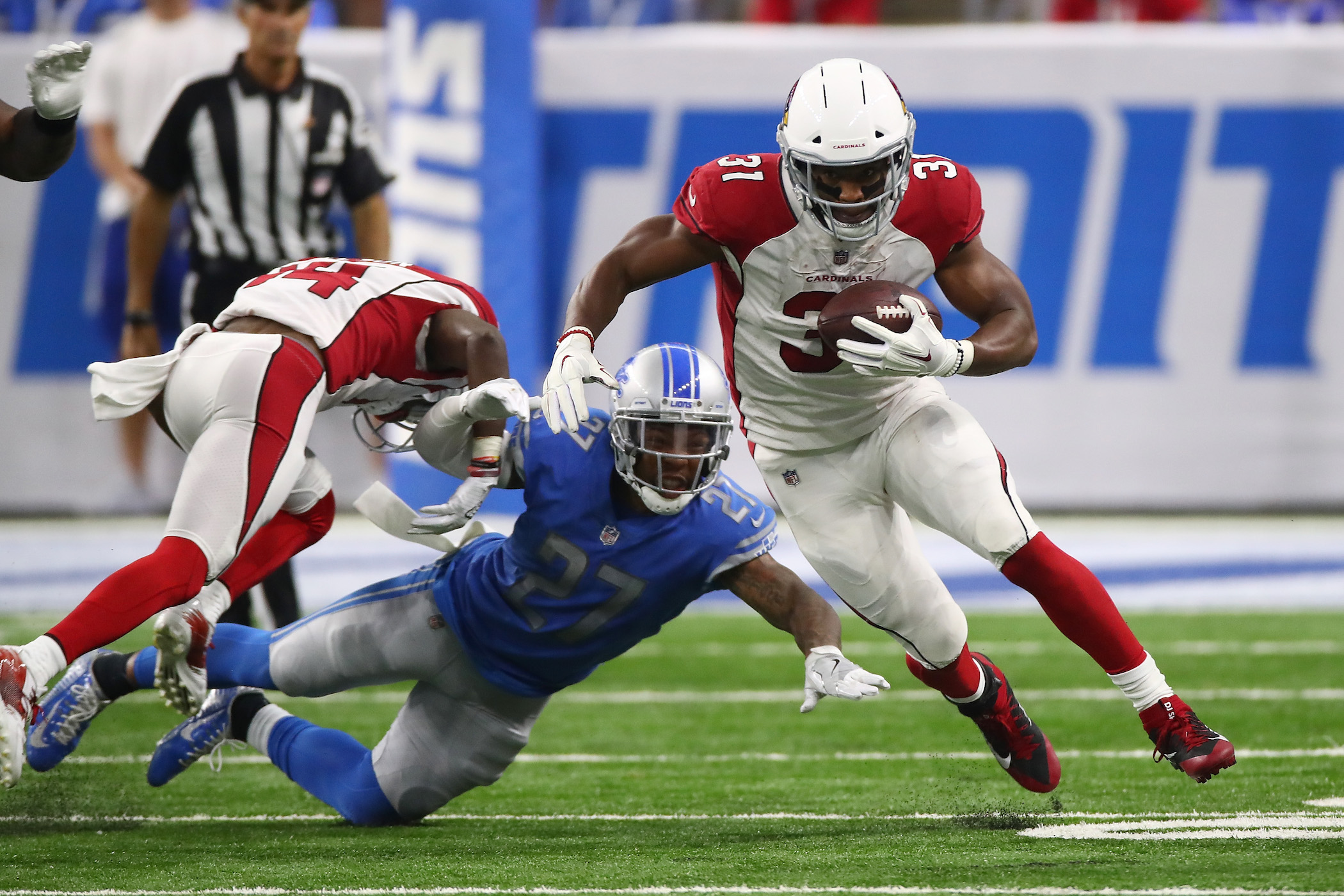 Report: Cardinals' David Johnson Could Miss 'Half the Season' With Sprained Wrist