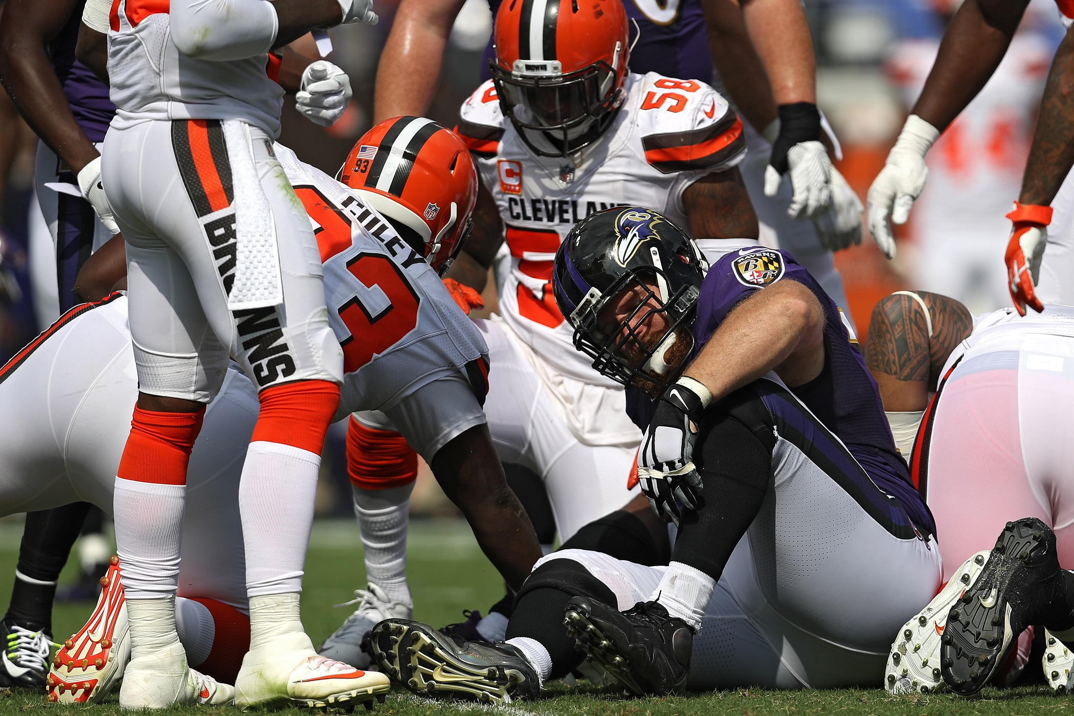 Marshal Yanda Baltimore Ravens RG NFL and PFF stats