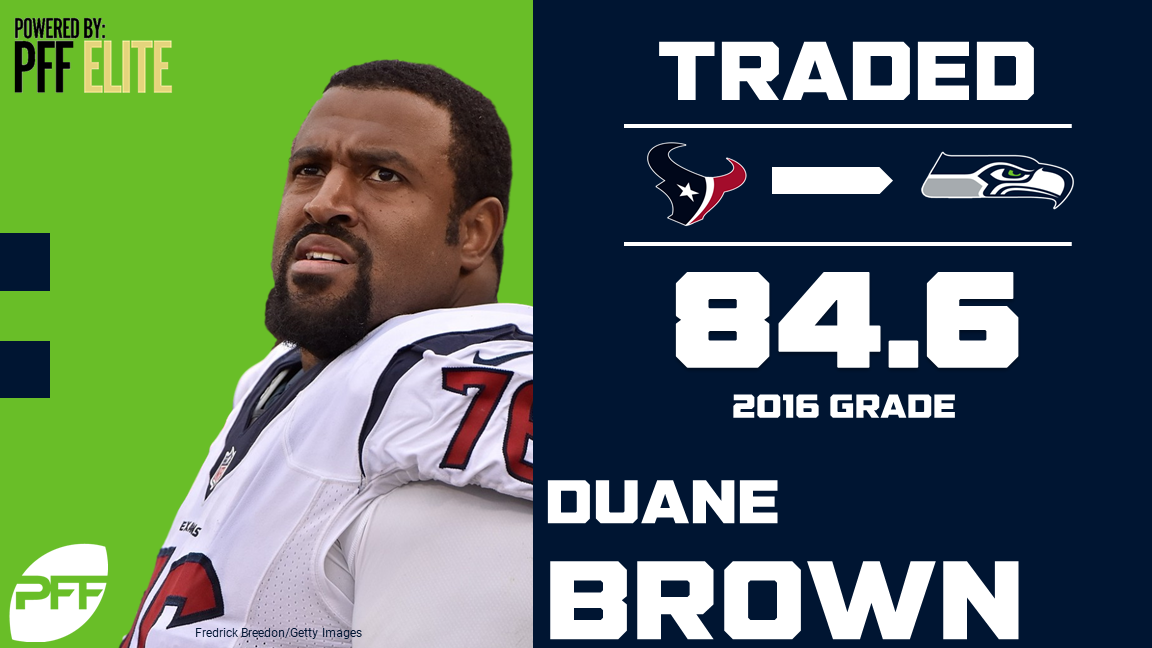 Duane Brown, Seattle Seahawks, tackle