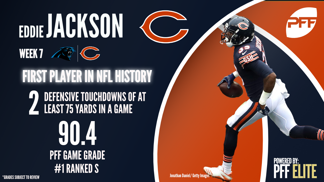 Chicago Bears S Eddie Jackson