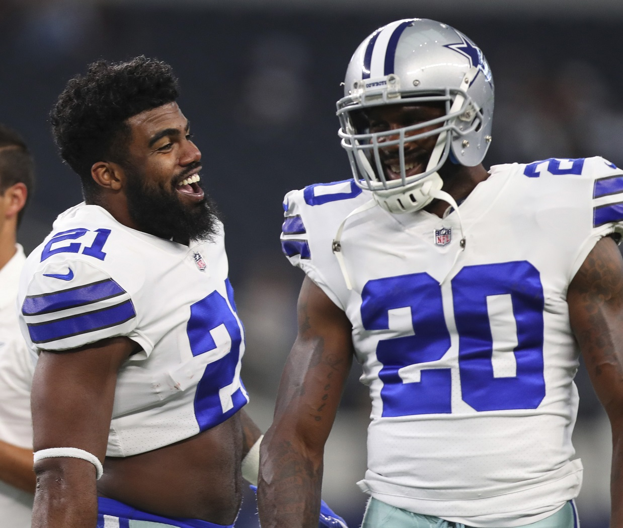 Ezekiel Elliott eligible to play for time being