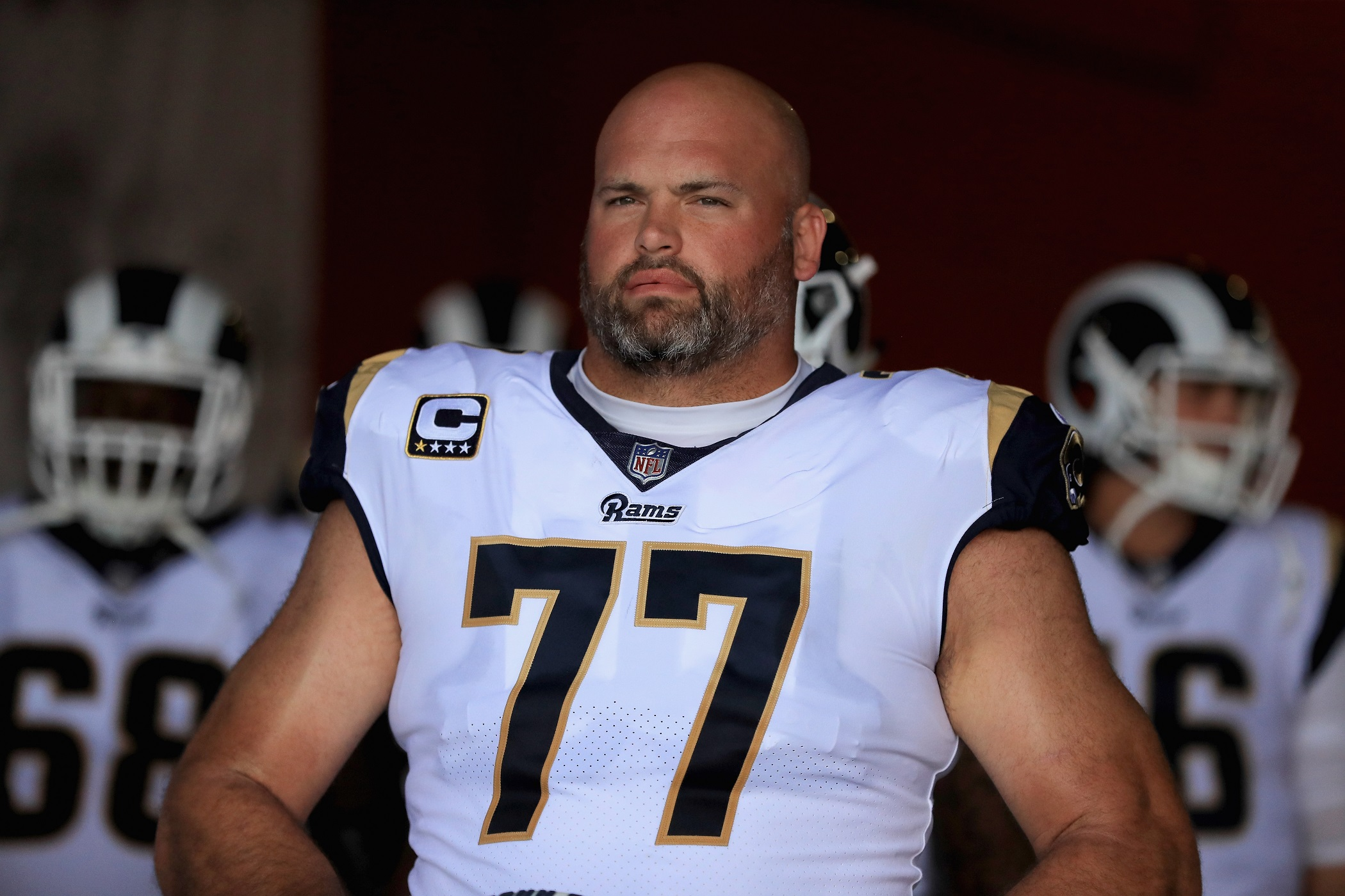 Andrew Whitworth Los Angeles Rams LT NFL and PFF stats