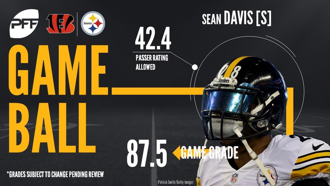 Sean Davis, safety, Pittsburgh Steelers