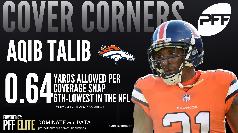 Denver Broncos CB Aqib Talib