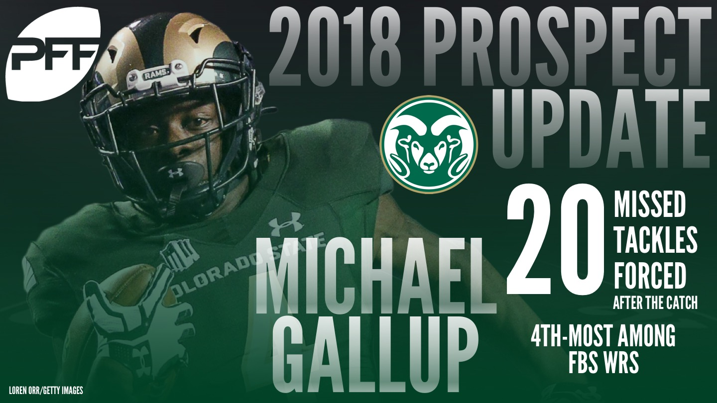2018 NFL Draft Prospect names to know - Michael Gallup