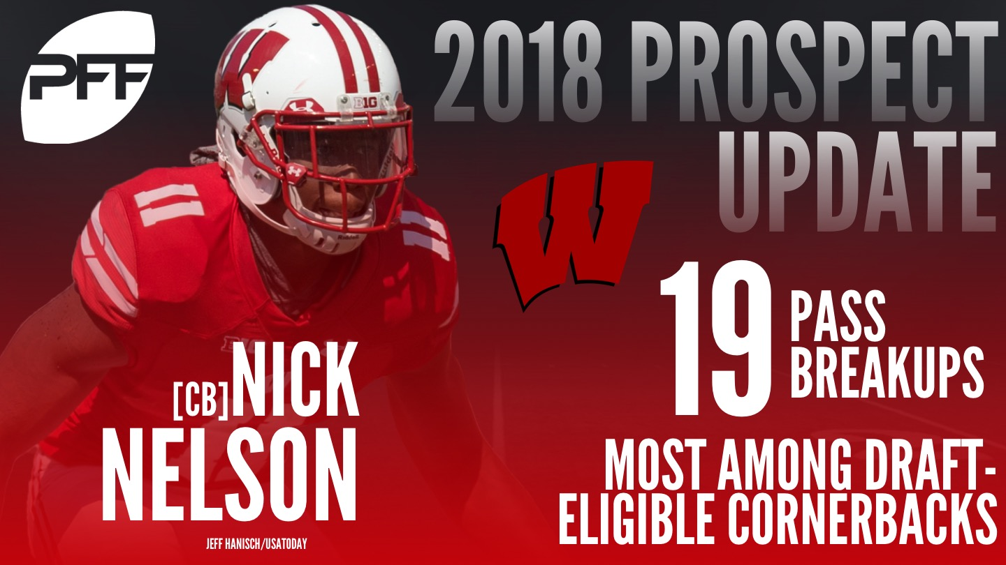Wisconsin Badgers CB Nick Nelson