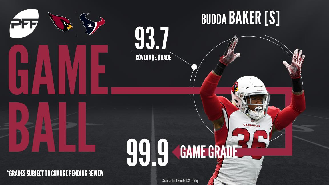 Budda Baker, safety, Arizona Cardinals