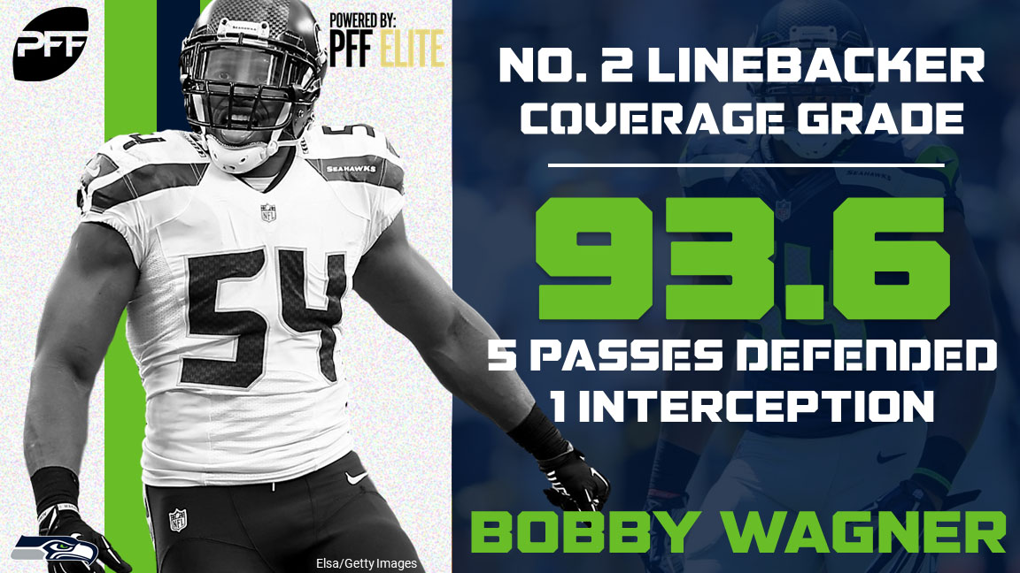 32 NFL teams - 32 best cover defenders - Seattle Seahawks LB Bobby Wagner