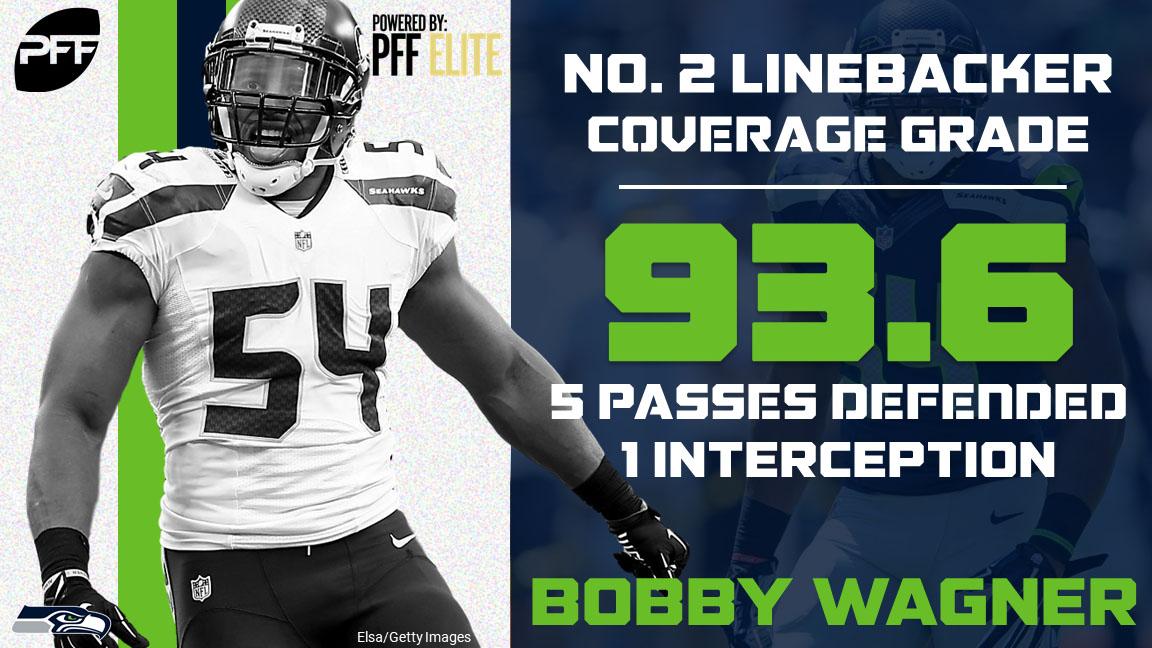32 NFL teams - 32 best cover defenders - Seattle Seahawks LB Bobby Wagner