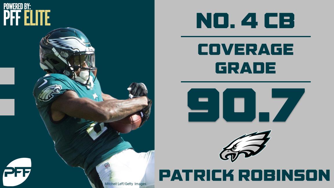 32 NFL teams - 32 best cover defenders - Philadelphia Eagles CB Patrick Robinson