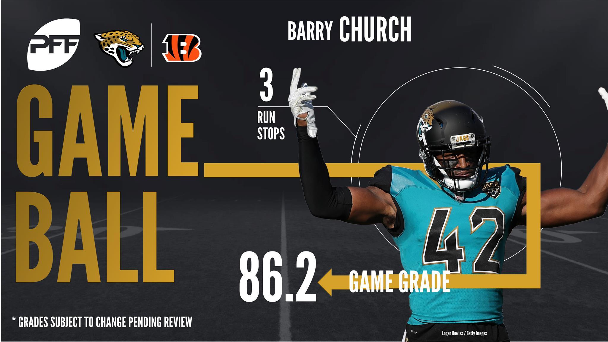 Barry Church, safety, Jacksonville Jaguars