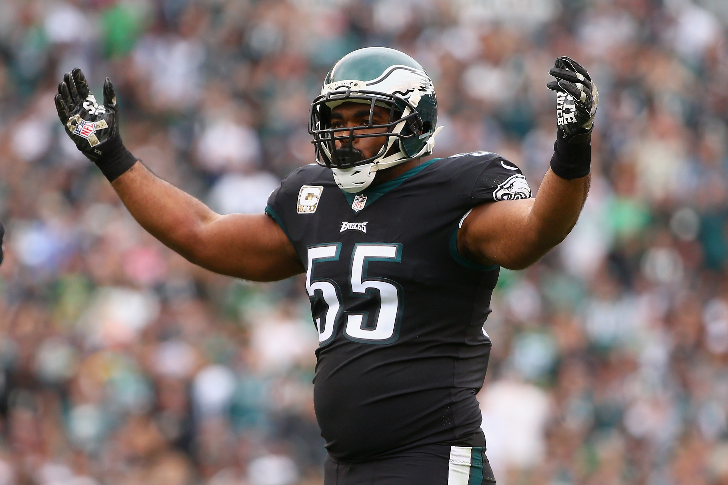 Brandon Graham Philadelphia Eagles DLE NFL and PFF stats