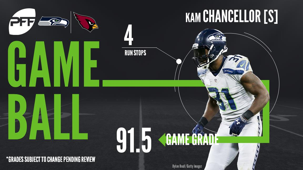 Kam Chancellor, safety, Seattle Seahawks