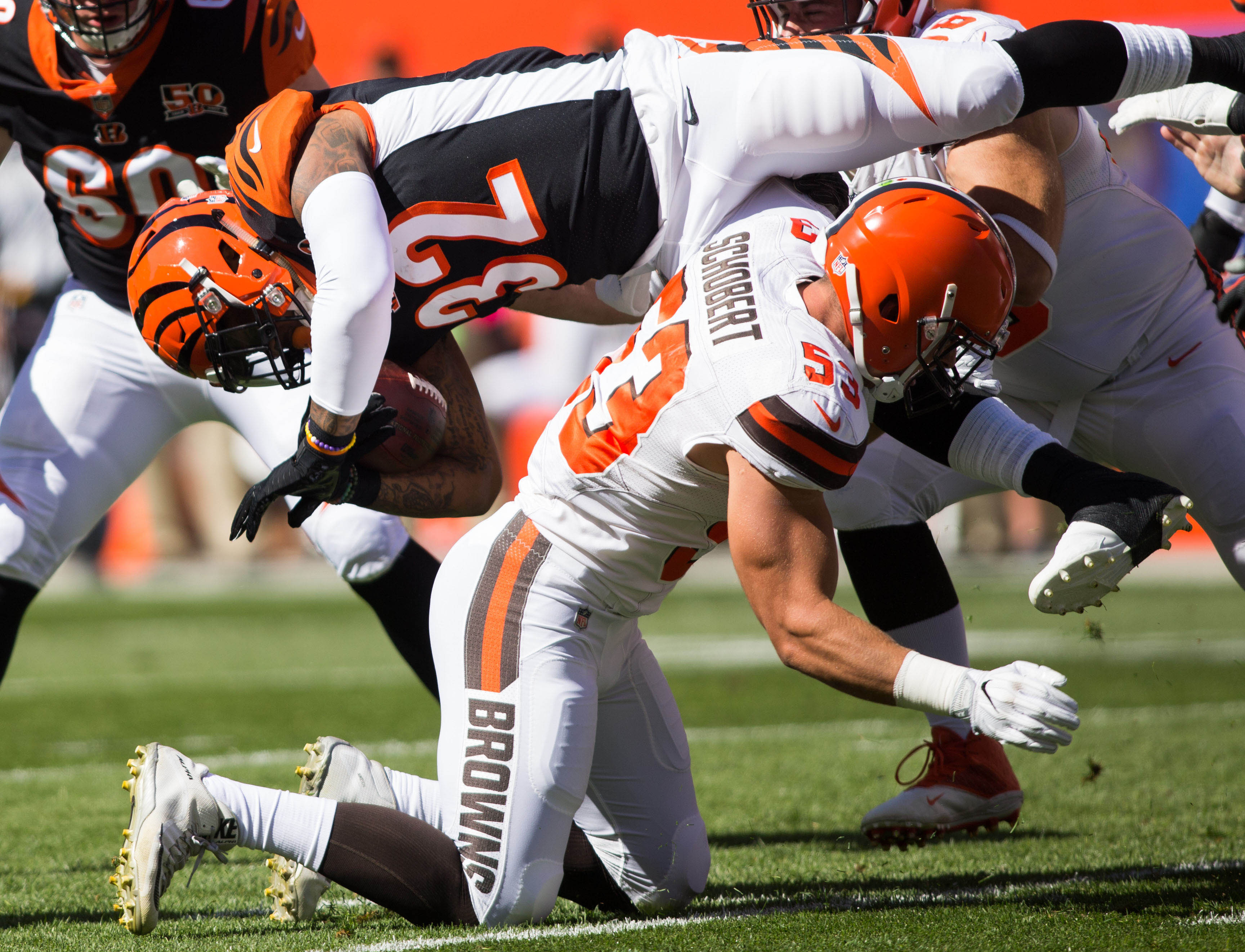 Joe Schobert NFL Jersey