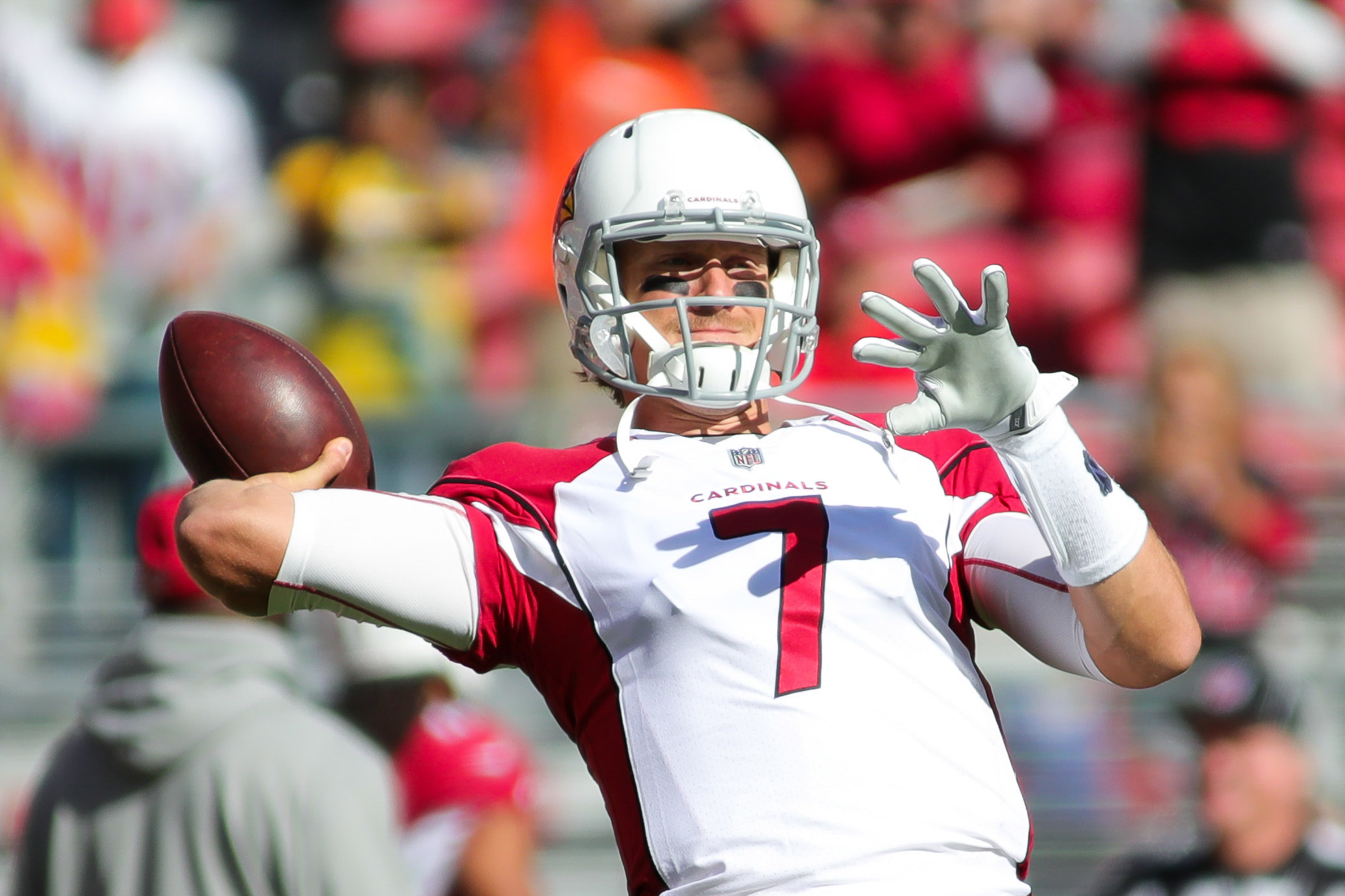 Arians: Cardinals' Blaine Gabbert will continue to start at QB