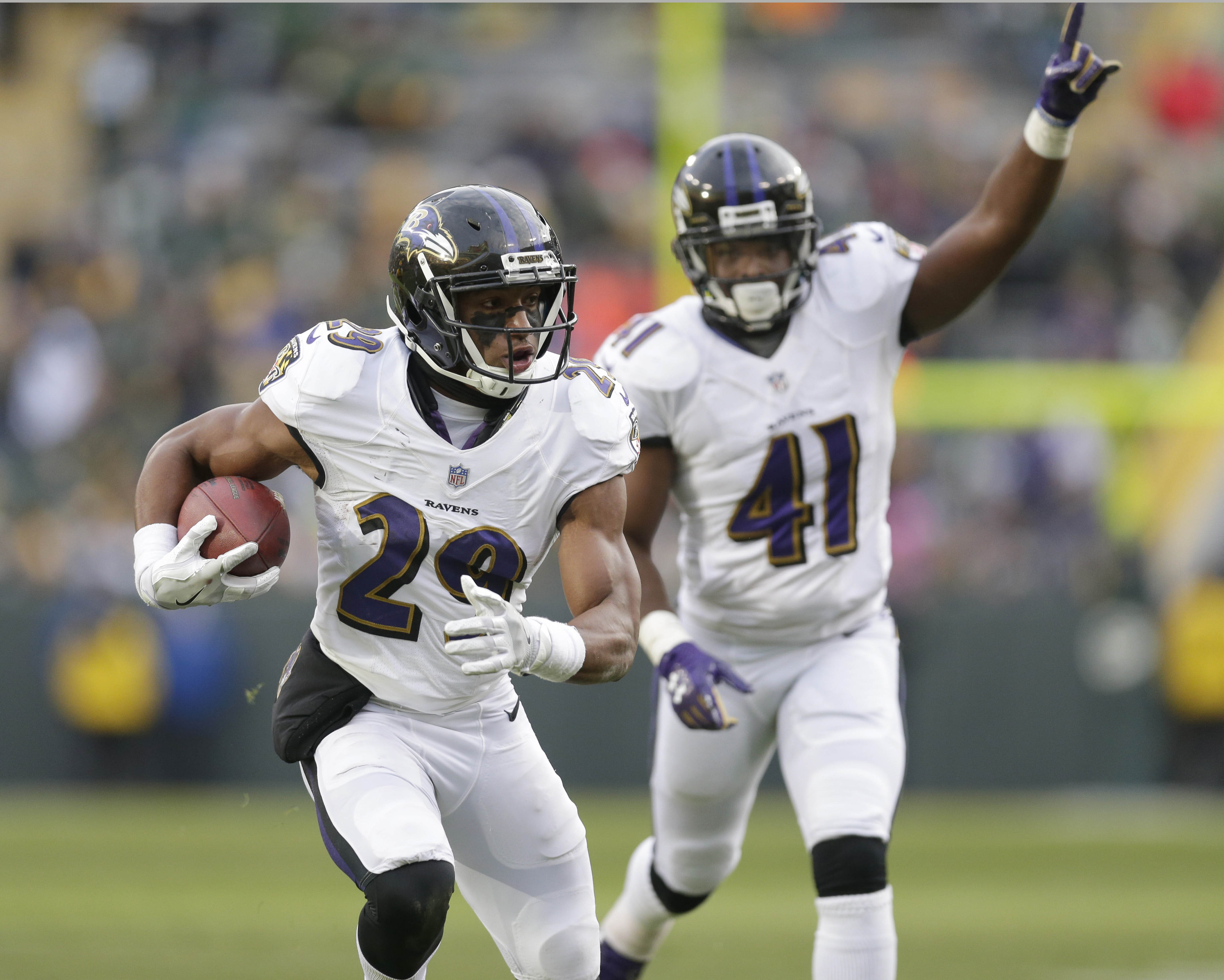 Baltimore Ravens CB Marlon Humphrey
