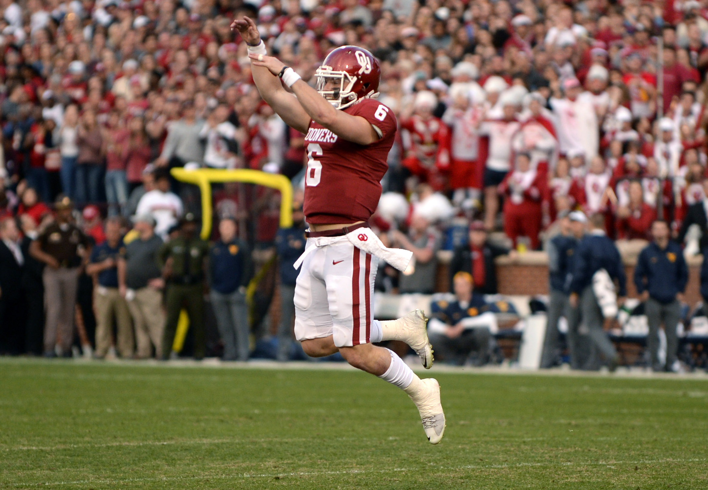 National Football League mock draft: Baker Mayfield in the Big Apple?