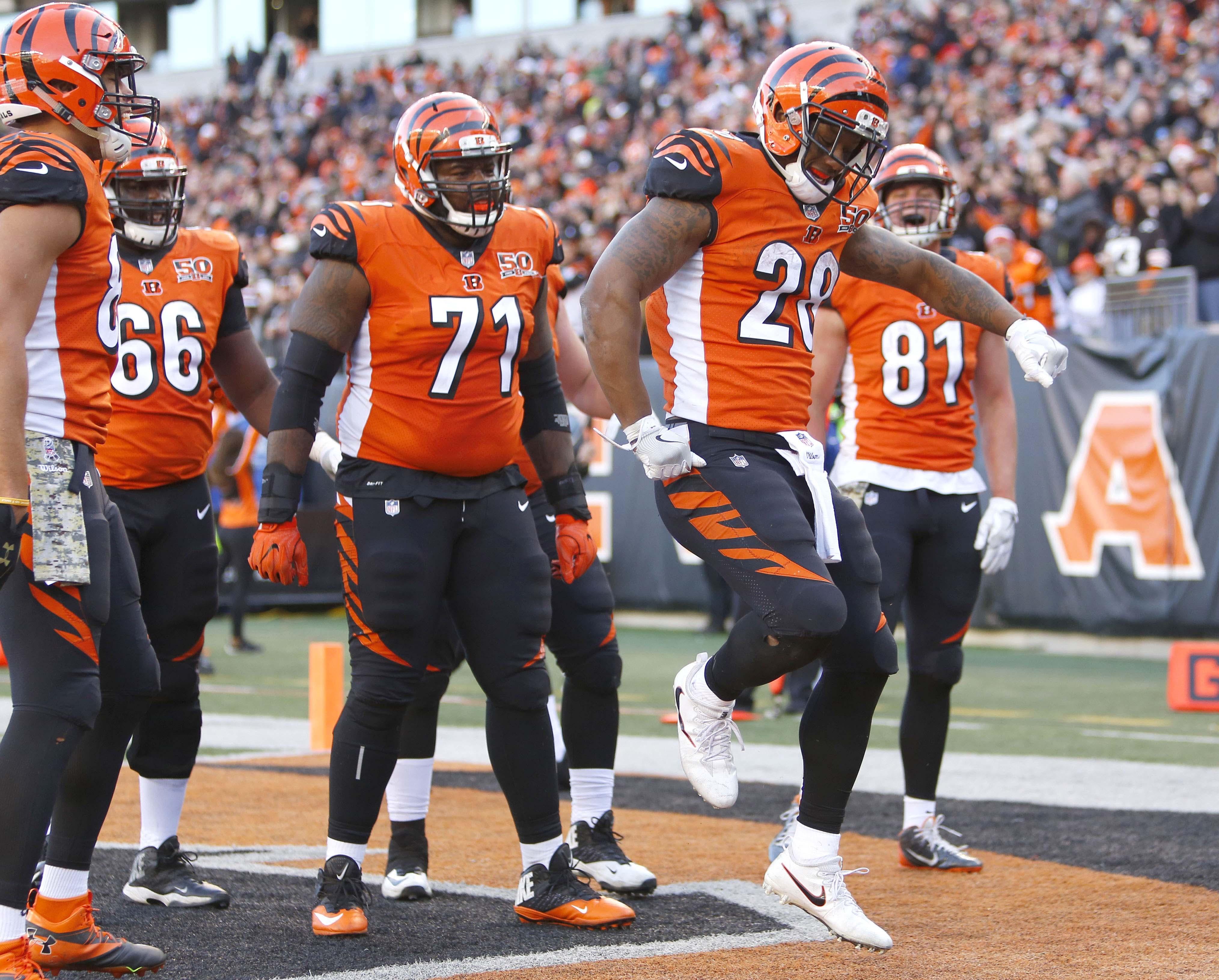 Geno Atkins Cincinnati Bengals DLT NFL and PFF stats