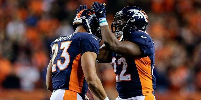 Denver Broncos RB C.J. Anderson Devontae Booker