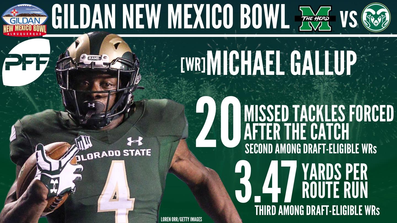 Colorado State WR Michael Gallup
